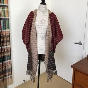 Free People Time After Time Hooded Kimono